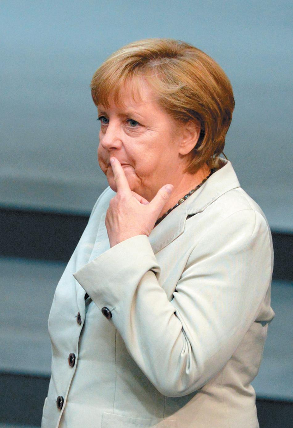 German Chancellor Angela Merkel, Berlin, September 2012