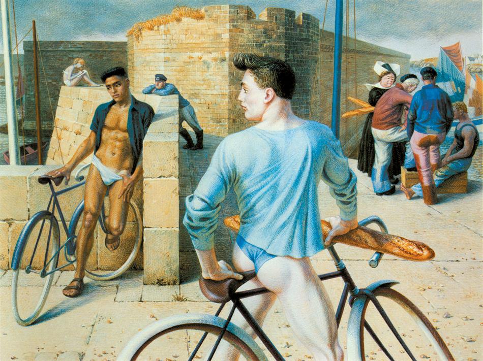 Paul Cadmus: Finistère, 1952