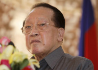 Cambodian Foreign Minister Hor Nam Hong in Phnom Penh, August 6, 2010