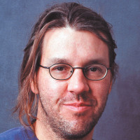 David Foster Wallace, New York City, 2003