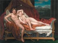 Jacques-Louis David: Cupid and Psyche, 1817