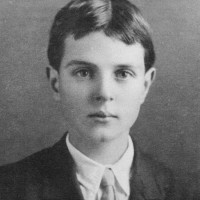 Thornton Wilder at the age of nine or ten, Berkeley, California, circa 1906–1907