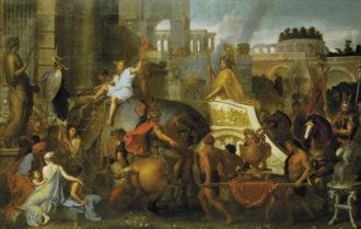 Charles Le Brun: Alexander the Great Entering Babylon, 1665