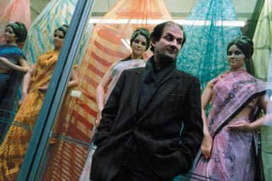 Salman Rushdie, Brick Lane, London, 1988