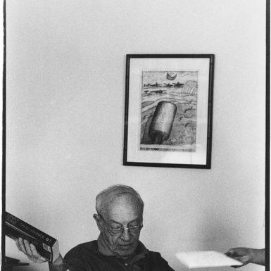 Saul Bellow, Boston, 1994