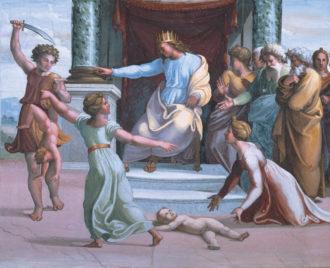 Raphael: The Judgment of Solomon, circa 1518–1519