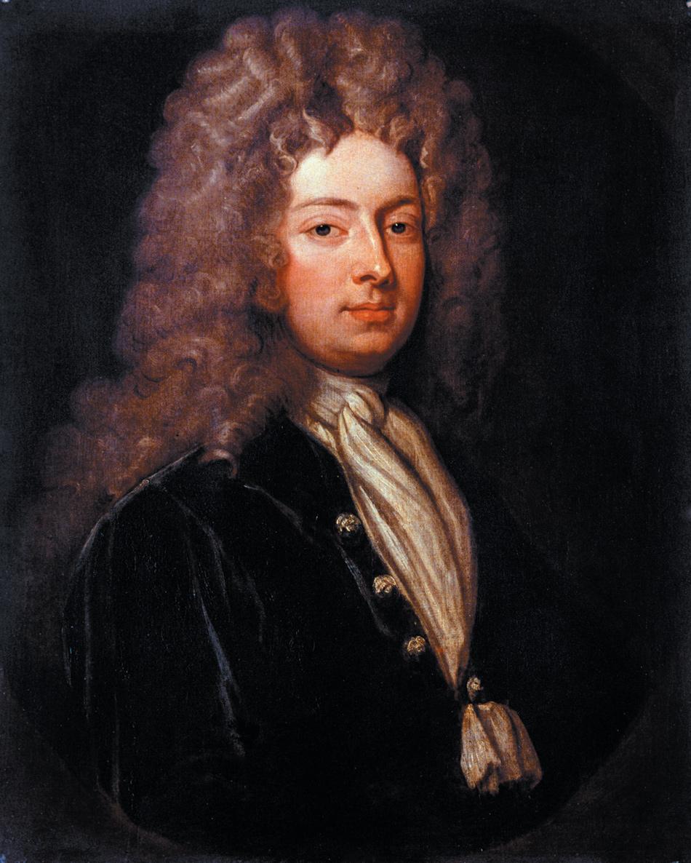 William Congreve, circa 1709, from the studio of Godfrey Kneller