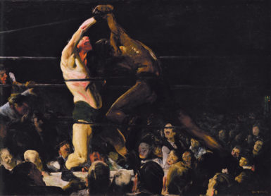 George Bellows: Both Members of This Club, 45 1/4 x 63 3/10 inches, 1909