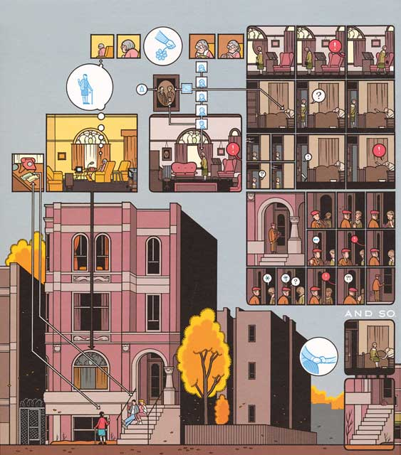 Building Stories Chris Ware In Conversation With Zadie
