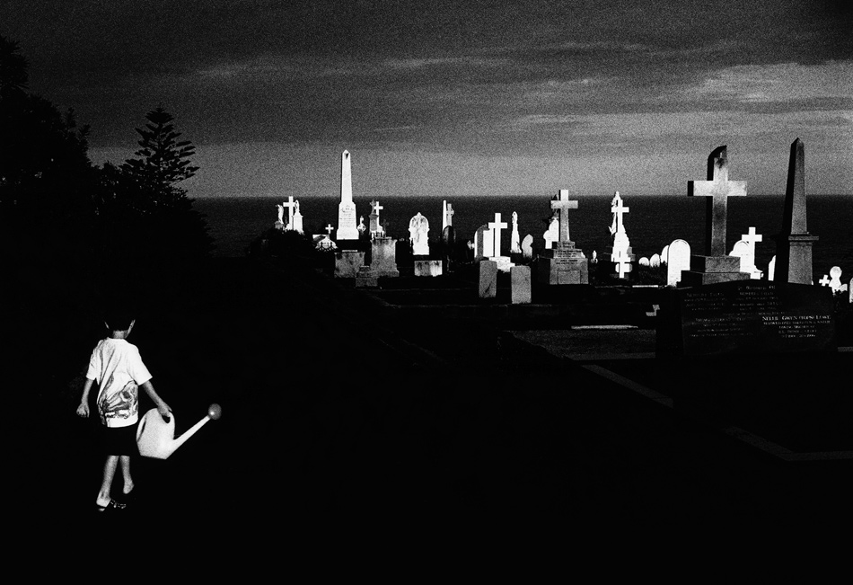 Photograph by Trent Parke from 'Dream/Life,' a series of his images of Australia