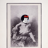 Joe Brainard: 'If Nancy Was André Breton at Eighteen Months,' 1972; from The Nancy Book by Joe Brainard, published by Siglio in 2008