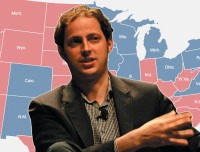 Statistician Nate Silver, who correctly predicted the winner of all fifty states and the District of Columbia in the 2012 presidential election