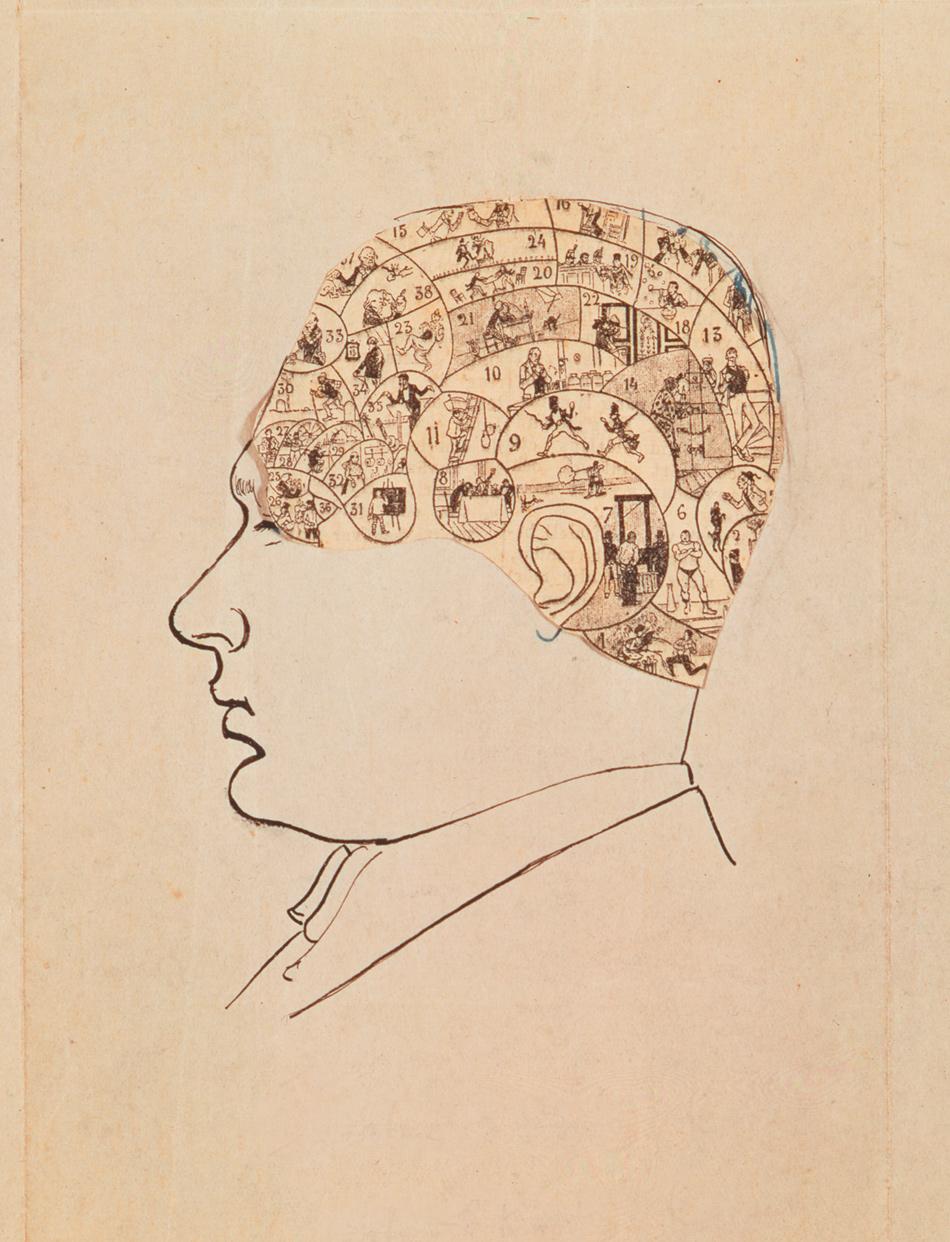 Tristan Tzara: Self-Portrait, 1928