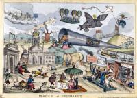 William Heath: March of Intellect, 1829