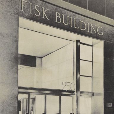 The Fisk Building on 57th Street