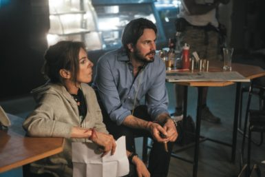 Director Kathryn Bigelow and writer Mark Boal on the set of Zero Dark Thirty