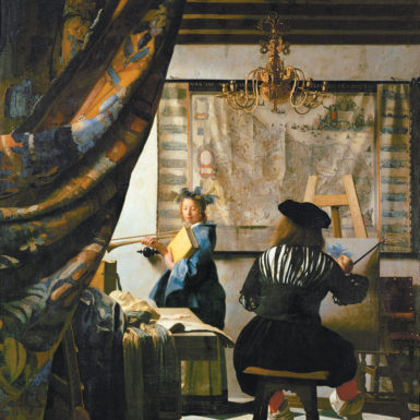 Johannes Vermeer: The Art of Painting, circa 1666