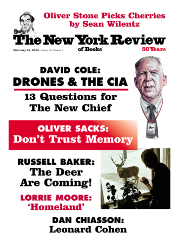 Image of the February 21, 2013 issue cover.