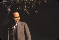Countee Cullen in Central Park, 1941; photograph by Carl Van Vechten