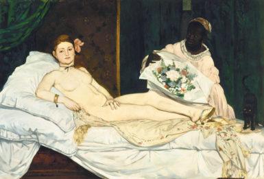 Édouard Manet: Olympia, 1863–1865