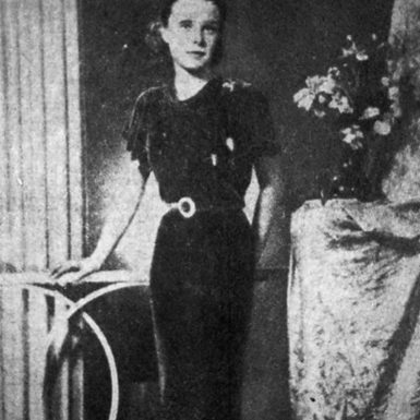 A studio portrait of Pamela Werner, who was murdered in Peking in 1937