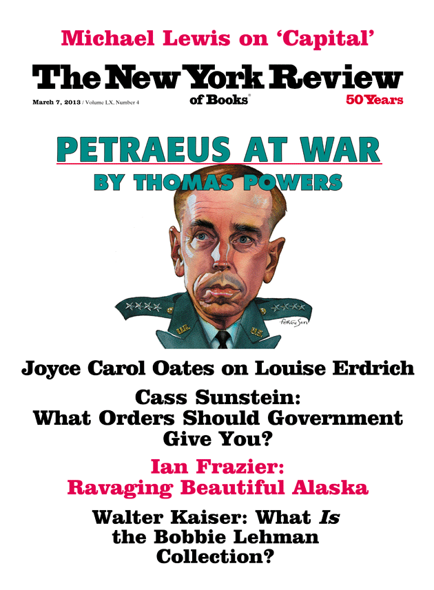 Image of the March 7, 2013 issue cover.