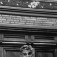 Jacques Derrida at the Sorbonne, June, 1979