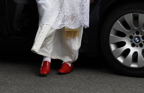 Why the Pope Wears Red Shoes | by Massimo Gatto | NYR Daily | The ...