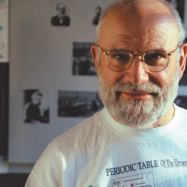 Oliver Sacks, New York City, 2002