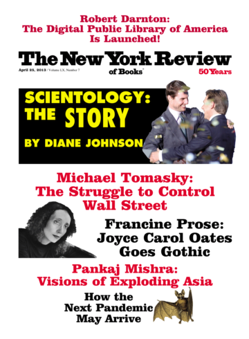 Image of the April 25, 2013 issue cover.