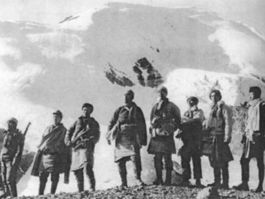 Resistance fighters on the Tibetan border during the early years of the CIA's Tibet program