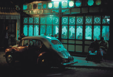 A café in Tunis, Tunisia; photograph by Harry Gruyaert