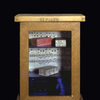 Joseph Cornell: Untitled (Le Piano), circa 1948
