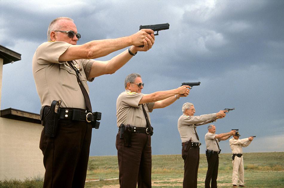 Sun City volunteer police force practice.jpg