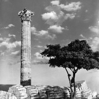 Temple of Olympian Zeus, Athens, 1937