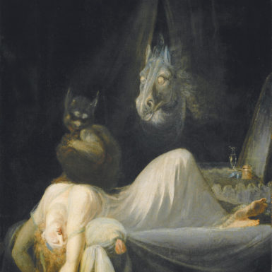 Henry Fuseli: The Nightmare, 1790–1791