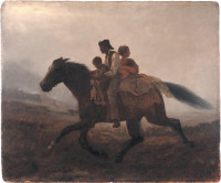 Eastman Johnson: The Ride for Liberty, the Fugitive Slaves, circa 1862