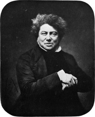 Alexandre Dumas, 1857; photograph by Nadar