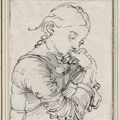 Albrecht Dürer: 'Mein Agnes,' 1494