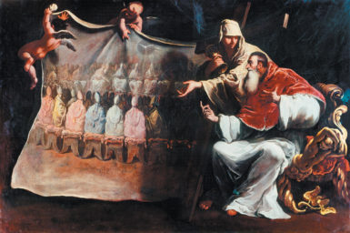 Sebastiano Ricci: Pope Paul III Preparing the Council of Trent, 1687–1688