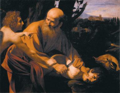 Caravaggio: The Sacrifice of Isaac, circa 1603–1604