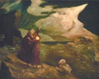Albert Pinkham Ryder: The Tempest, 1892