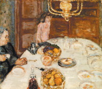 Pierre Bonnard: Lunch at Grand-Lemps, 1899
