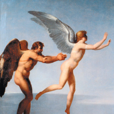 Charles Paul Landon: Daedalus and Icarus, 1799