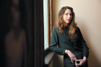 Rachel Kushner at her house in Los Angeles, March 2013