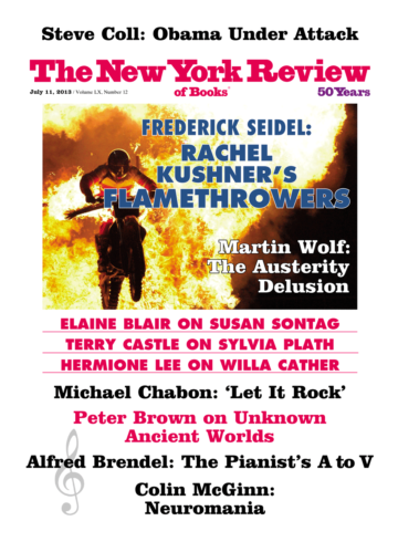 Image of the July 11, 2013 issue cover.