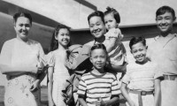 The Law-Yone family, 1951