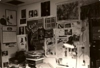 The New York Review's mailroom, 1980