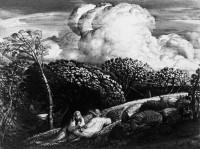 Samuel Palmer: <i>The Bright Cloud</i>, circa 1833–1834