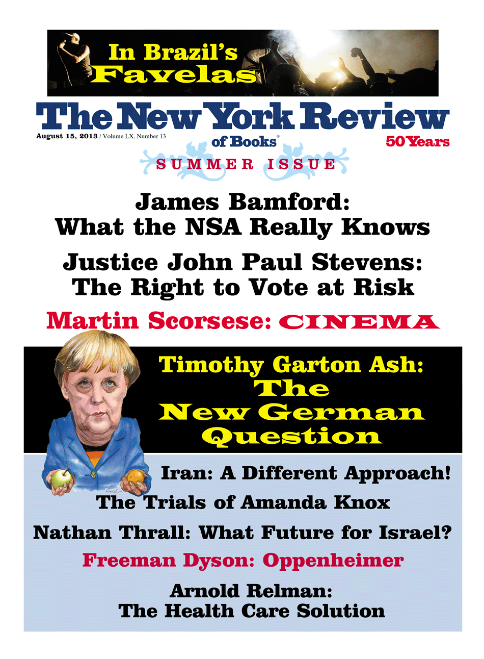 Image of the August 15, 2013 issue cover.